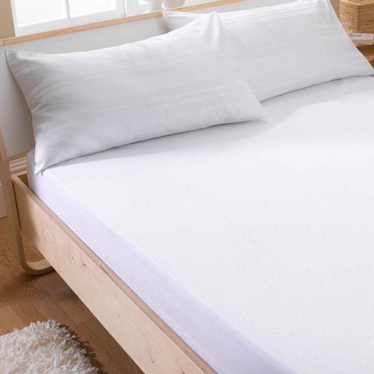 WATERPROOF TERRY TOWEL OR QUILTED Mattress Protector Sheet Bed Cover All Sizes