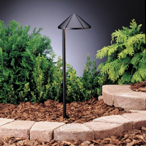Kichler 15315BKT One Light Path & Spread - 1 Light 12v Path