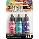 Ranger RGRTAK.52548 Beach Deco Tim Holtz Alcohol Ink Set