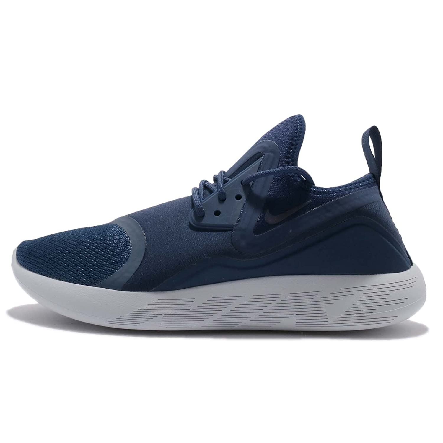Nike Mens Lunarcharge Essential Ankle-High Fabric Running Shoe  38.5 EU|Midnight Navy 401