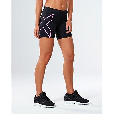 2x U Short de compression de femme 12,7cm