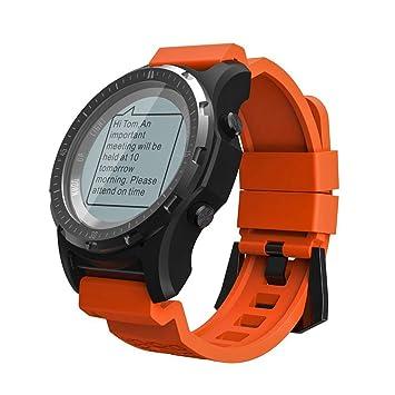 LCDIEB Reloj Deportivo GPS Reloj Inteligente Reloj de ...