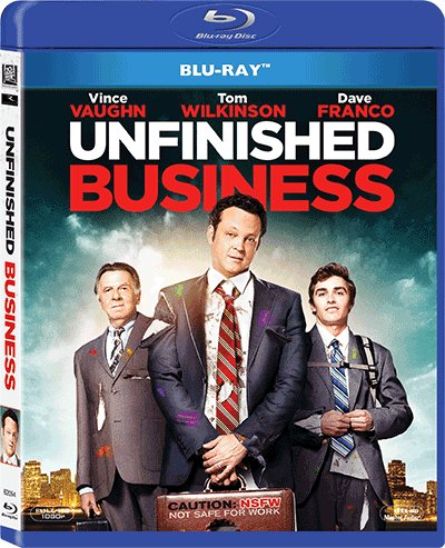 Unfinished Business (2015) (Region A Blu-Ray) (Hong Kong Version) Chinese subtitled