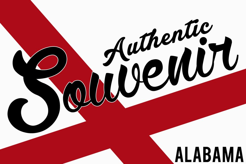 訪れたAlabama – Authenticお土産 24 x 36 Giclee Print LANT-50532-24x36 B00Z4UT81S  24 x 36 Giclee Print
