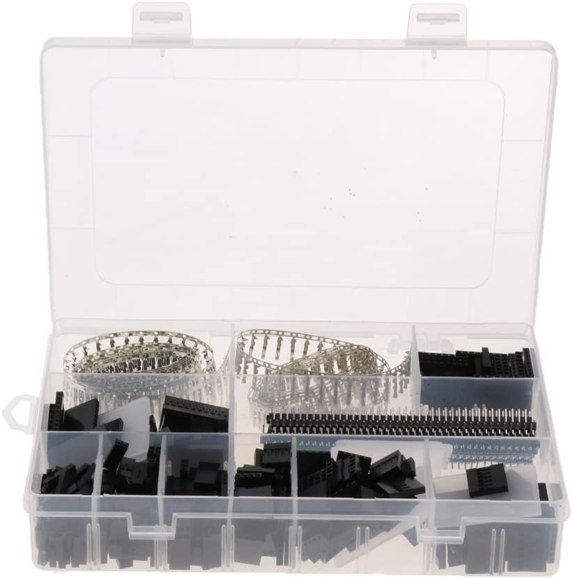 1450pc Female Male Pin Header Connector Terminal Kit for Dupont Jumper Wire