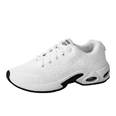 ELECTRI Chaussures de Course Couleur Unie Running Sport Tissu Volant Trail  entraînement Basket Homme Sneakers Sangle c44aaaabfc2c