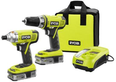 18-Volt One+ Cordless 2 Pc Lithium Ion Drill and Impact Driver Combo Kit - P839-P839 at The Home Depot