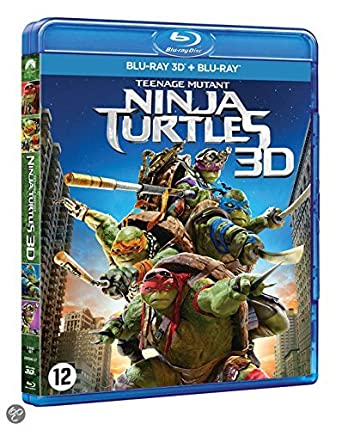 Amazon.com: Ninja Turtles 3D [Combo Bluray 3D + Bluray ...