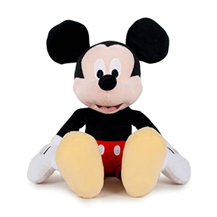 Mickey Mouse - Muñeco peluche, multicolor (Famosa 760011897)