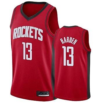 Hombre Ropa de Baloncesto NBA Houston Rockets 13# Harden Jersey ...