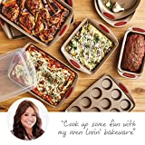 Rachael Ray 52410 Cucina Nonstick Bakeware Set with