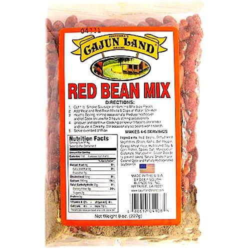 - Cajun Land Red Bean & Seasoning Mix 8 oz