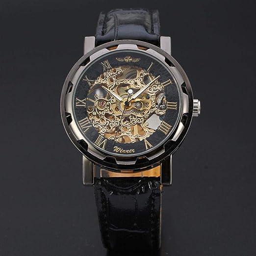 5cc143fc69 Amazon   メンズ腕時計 ファッション 機械式時計 レトロ クラシック 高品質レザーベルト クォーツ腕時計 通勤 クリアランス 人気商品  トレンド ホット製品 ギフト ...