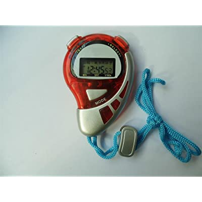 Chronomètre avec 8 zwischenzeiten avec batterie