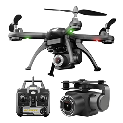 Zinniaya X6S RC Drone 4CH WiFi FPV Drone 1080P HD Cámara Vuelo ...