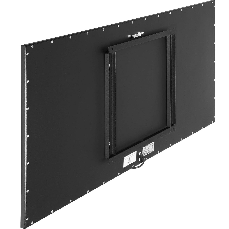 Protection contre la surchauffe 1 Face Tableau noir 300 Watt | no. 403252 Indice de protection 44 tectake 800695 Radiateur /électrique rayonnant infrarouge design plusieurs mod/èles -