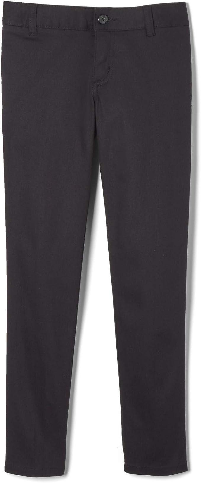 Nautica Little Girls Flat Front Stretch Capri Pants