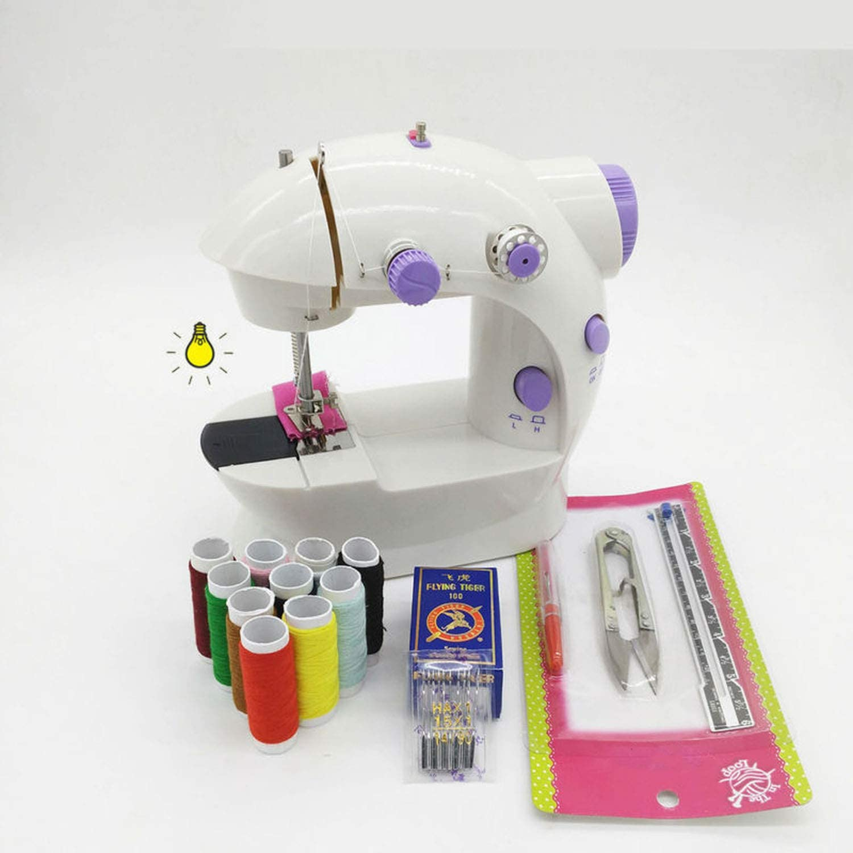 DIY * * * Venta eléctrica infantil máquina de coser ropa doméstica ...