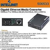 Intellinet 506533 GigaBit Ethernet Media Converter
