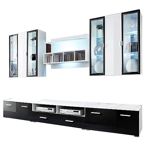 Conjunto de muebles de pared para salón de la marca WBBS ...