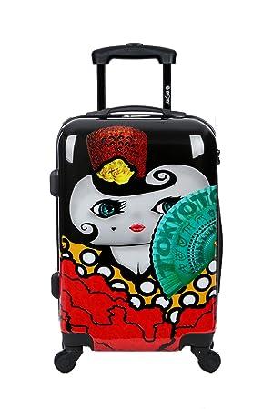 Maleta de cabina Equipaje de mano 55x40x20 Maleta juvenil trolley de viaje Ryanair Easyjet de TOKYOTO