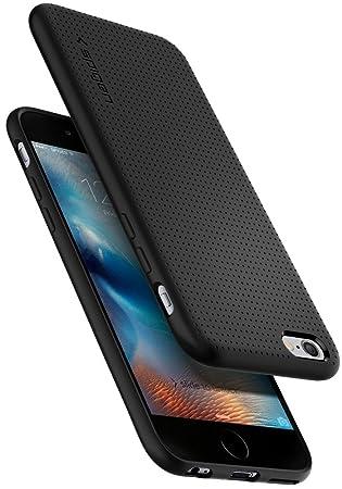 factory authentic 8c6eb 57fb8 Spigen, Liquid Air Designed for iPhone 6, iPhone 6S Case - Black