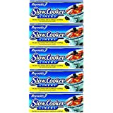 Reynolds Metals 00504 Slow Cooker Liners 13 IN X 21 IN, 20 LINERS