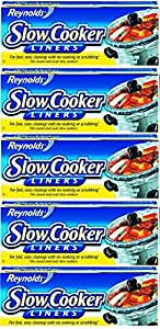 Reynolds Metals 00504 Slow Cooker Liners 13 IN X 21 IN :  where we wanted to minimize clean up They were great because we had limited prep room and didn't need