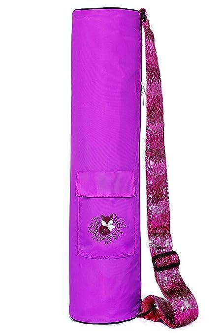 Amazon.com: Fox Hill Fitness Yoga Mat Bag for Kids and Women ...
