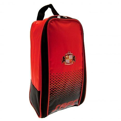 Sunderland FC botas fútbol bolsa de color rojo negro mercancía oficial del  club b25769f0a5ac4