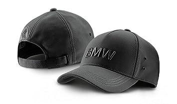 a21eca6bef7 BMW New Genuine Space Grey Wordmark Cap Hat 80162411104  Amazon.co ...
