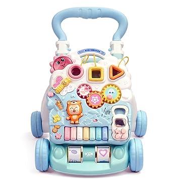 DULPLAY andador de bebé, sentado a pie, para aprender a andar, 6 ...