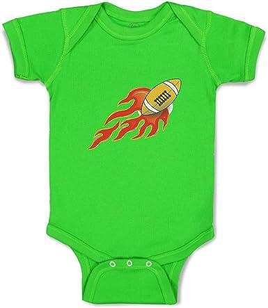 Cute Fireball Design Baby Romper Bodysuit