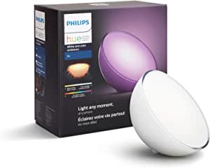 Philips Hue Go White and Color Portable Dimmable LED Smart Light Table Lamp (Requires Hue Hub, Works with Alexa, HomeKit and Google Assistant)