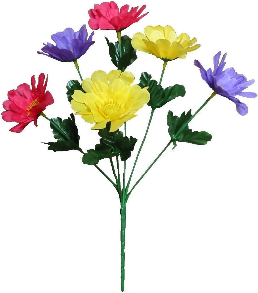 "Pack of 24 13/"" Pick Home Office Silk Flower Bridal Craft Decor Lavender Dahlia"
