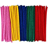 eBoot Pipe Cleaners Chenille Stem for Arts and Crafts (150 * 4 mm, Assorted)