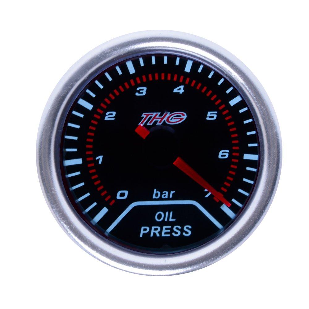 Universal Car Oil Pressure Gauge 2'/52mm 0-7 bar Jambogroup