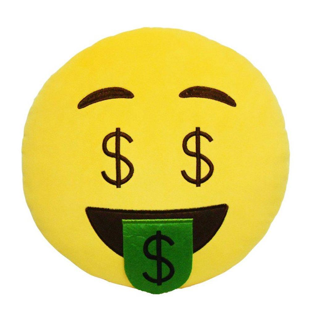 DIYJewelryDepot amarillo dinero Dólar de cara ojos Emoji ...