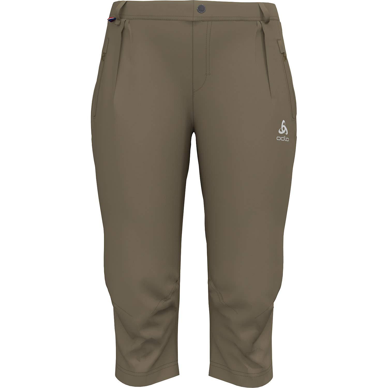 Odlo Koya Cool Pro 3/4 Pants Women - Lead Gray Steel Grey