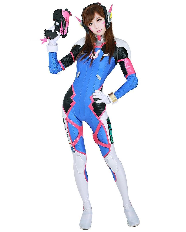 amazon com aesthetic cosplay s overwatch dva cosplay costume full