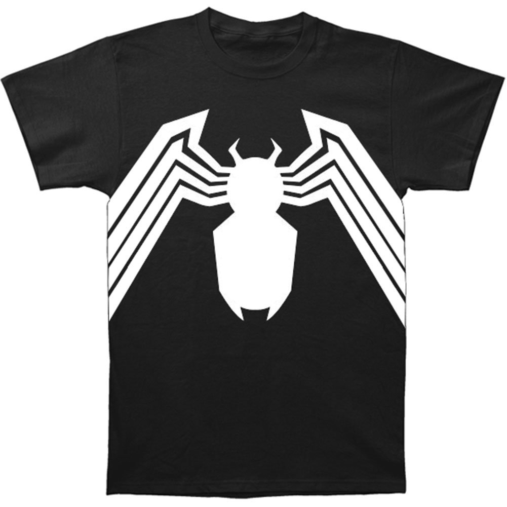 5aa1c6ad Amazon.com: Marvel Comics - Mens Venom Venom Suit Fitted T-Shirt In Black:  Home & Kitchen