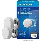 Lutron Z3-1BRL-WH-L0-2 Aurora Smart Bulb Dimmer, 2 Pack, White
