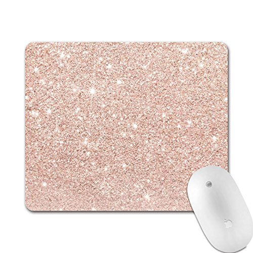 (Professional Gaming Mouse Pad, Personalized Durable Non Slip Mouse Mat, Computer Desk Stationery Accessories Mouse Pads for Gift - Glitter)
