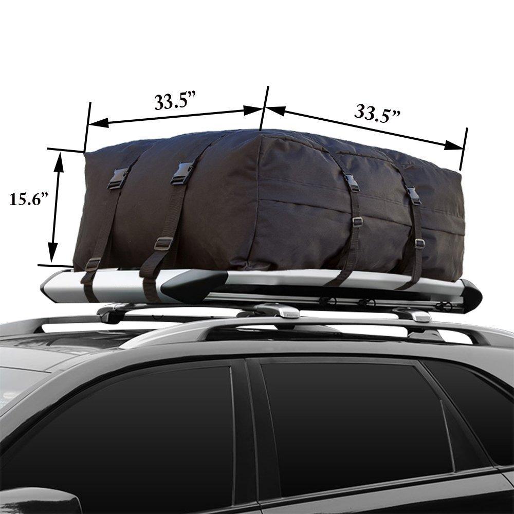 防水Cargo Carrierバッグ荷物キャリアバッグ(10 Cubic Ft) Great for車VansトラックSUV車荷物キャリア B075L9V67D