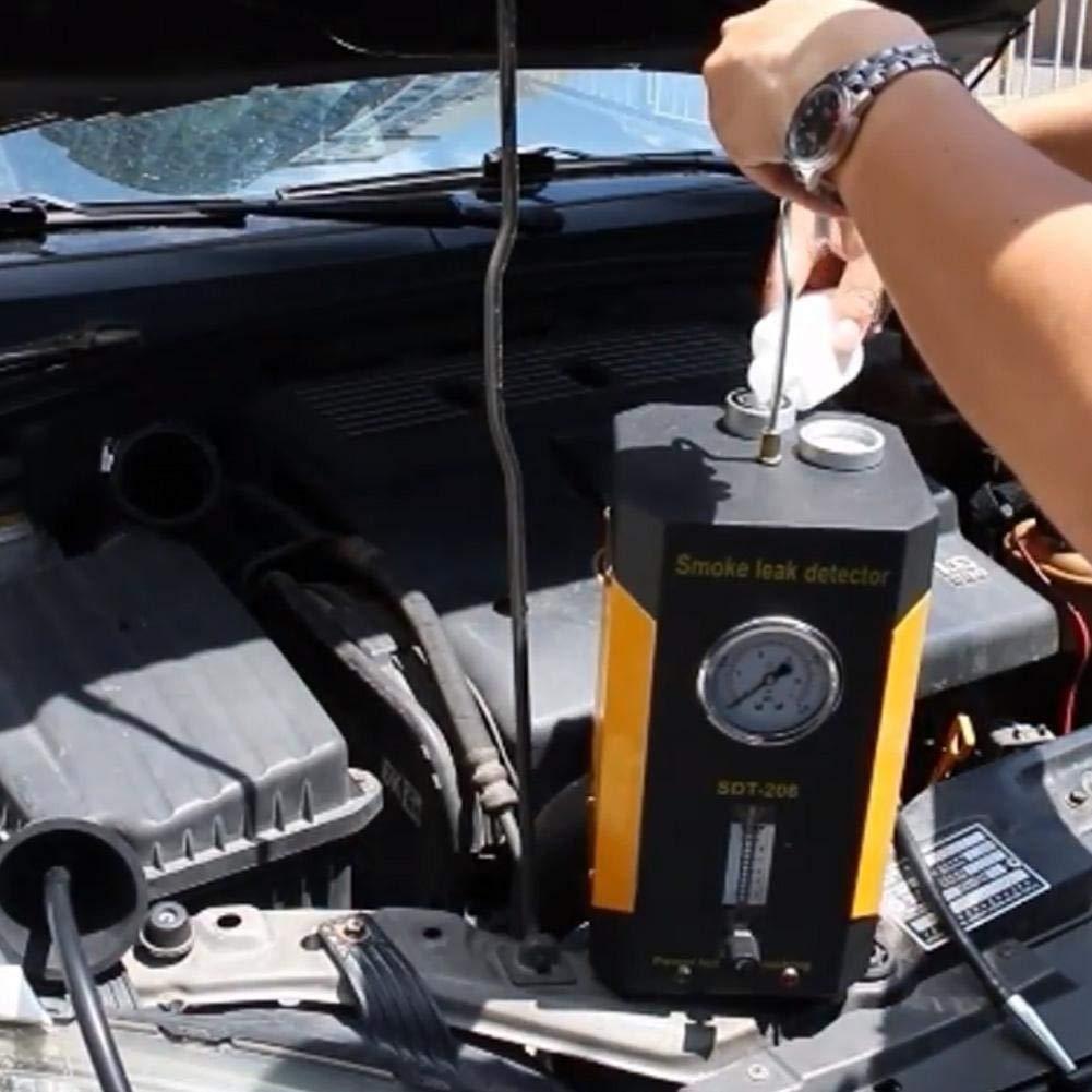 SDT-206 Car Smoke Machines Professional Repairing Adjustable Flowmeter Cars Leak Locator Automotive Diagnostic Leak Detector by Wal front (Image #2)