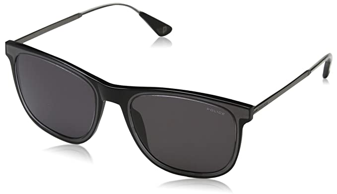 Police Mark 4 Gafas de Sol, Negro (Crystal Black/Grey), 54.0 ...