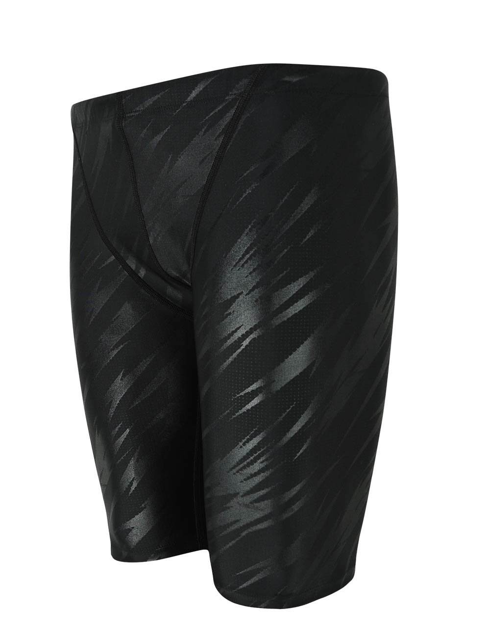 Easea Men`s Rapid Swim Splice Quick Dry Jammer Swimsuit Black Pattern 2X-Large by Easea
