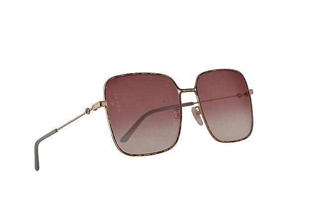 Gucci GG0443S Gafas De Sol Dorado Con Lentes Violeta ...