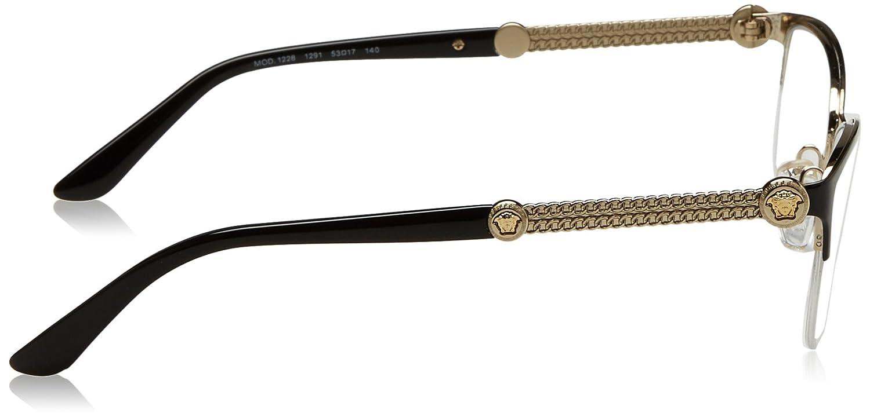 103b3ef067 Amazon.com  Versace Women s VE1228 Eyeglasses 53mm  Clothing