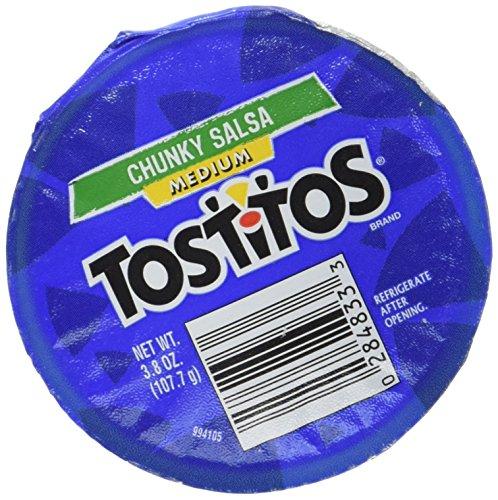 Tostitos Medium Chunky Salsa To Go, 3.8 Ounce (Pack of 30)